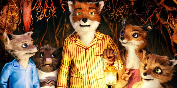 A scene from the movie, Fantastic Mr. Fox.