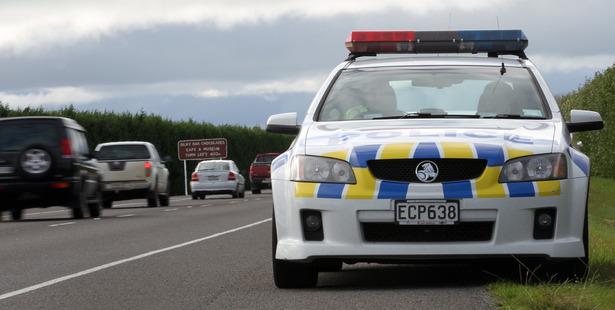 Police on patrol. Photo / Paul Taylor