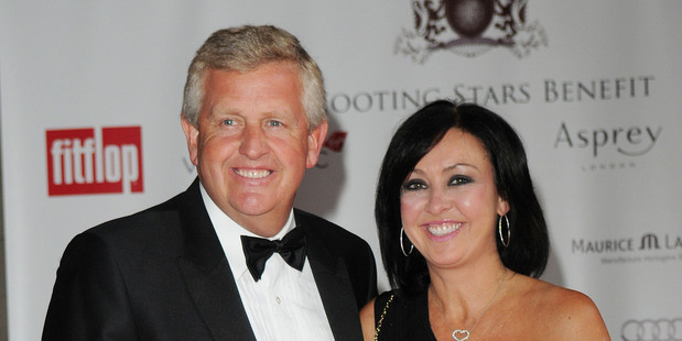 Golfer Colin Montgomerie and his ex-wife Gaynor Knowles
