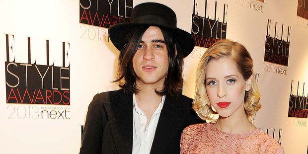 Thomas Cohen with Peaches Geldof. Photo / Getty Images
