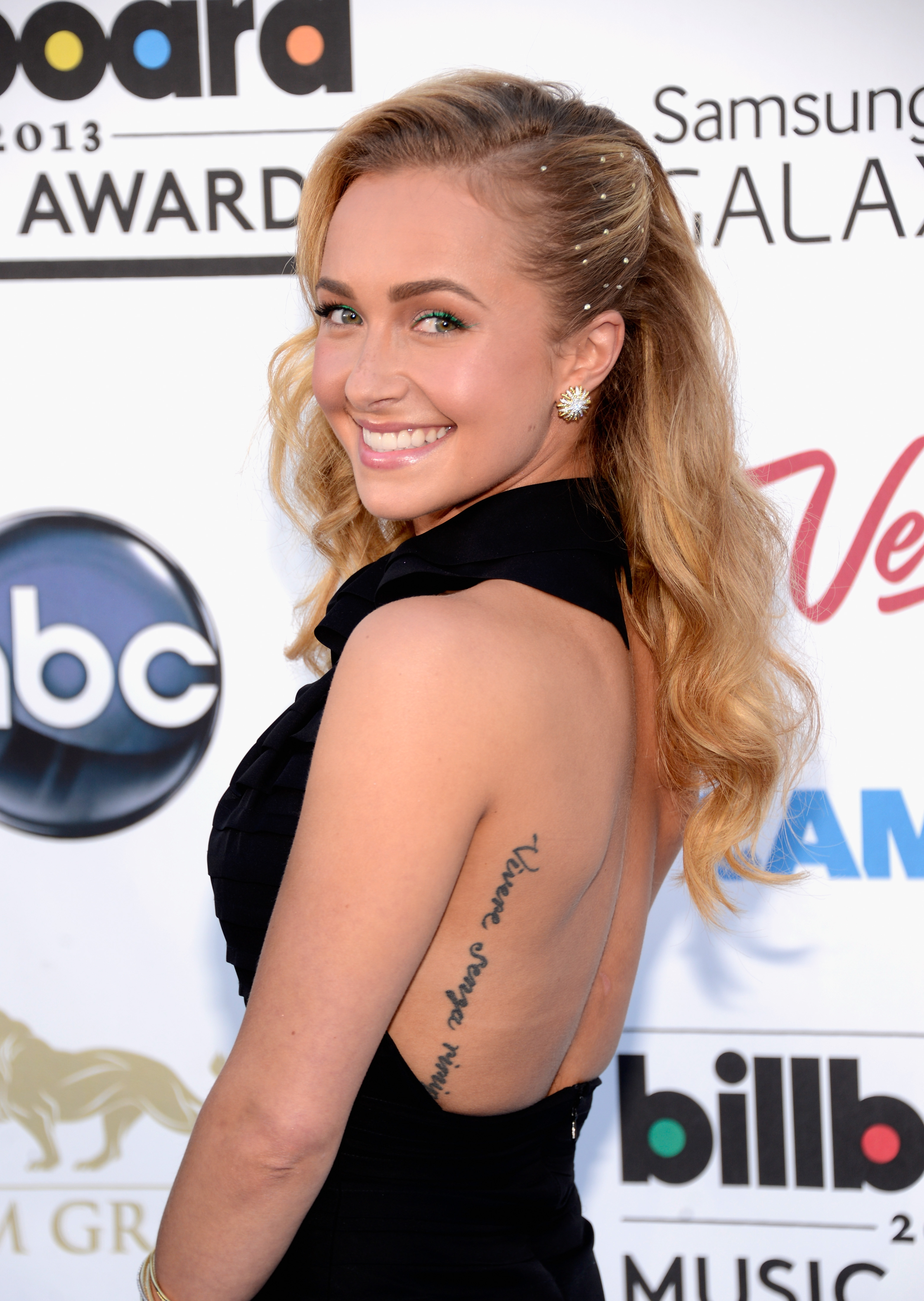 Hayden Panettiere regretted her tattoo so much she eventually got it removed. Photo / Getty Images