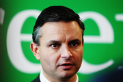 Co-leader James Shaw said a lack of competition among the big Australian-owned banks meant Kiwis were missing out on lower mortgage rates. Photo / Mark Mitchell