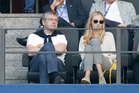 Dmitri Rybolovlev and his daughter Ekaterina Rybolovlev. Rybolovlev was involved in a cat and mouse game of hiding assets after his divorce. Photo / Getty