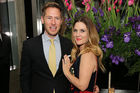 Actress Drew Barrymore and husband Will Kopelman. Photo / Getty Images