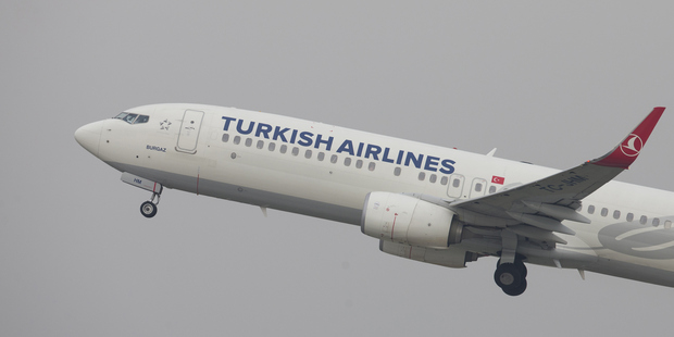 A Turkish Airlines passenger aircraft. Photo / Getty Images