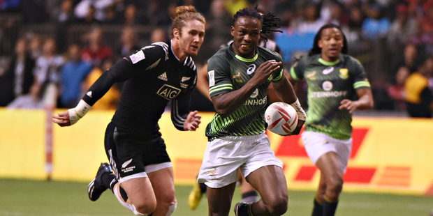 New Zealand vs South Africa during HSBC World Rugby Sevens Series March 13, 2016. Photo / Getty Images