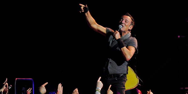 Bruce Springsteen performing in Denver, Colorado. Photo / Getty