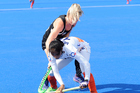 New Zealand v India at the Festival of Hockey. Photo / Getty Images