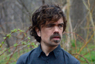 Peter Dinklage during the Naked and Afraid sketch on Saturday Night Live. Photo / Getty Images