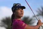 Lydia Ko hits a shot at the 16th hole during the 2016 ANA Inspiration Championship. Photo / Getty Images