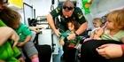 St John Ambulance visit to Baby and Child Havelock North