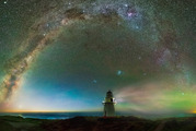 The Waipapa Point Lighthouse, which is a seven hour drive from Christchurch. Photo / Paul Wilson Images
