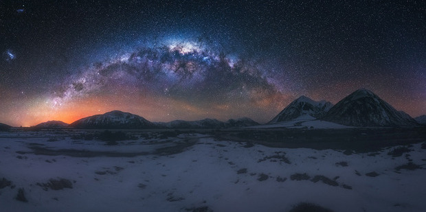 The incredible landscapes of the South Island feature in his images. Photo / Paul Wilson Images