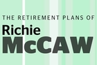 This interactive plays out the retirement plans of former All Blacks captain Richie McCaw.