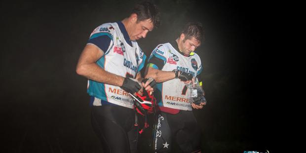 Rob Nichol and Richie McCaw. Photo / Supplied