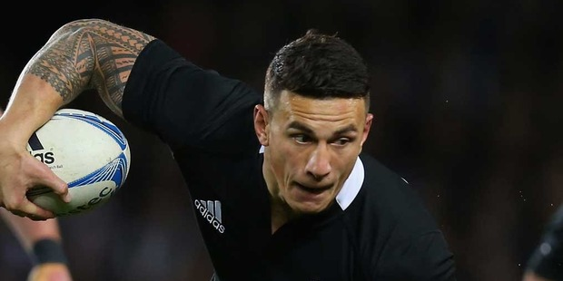 Sonny Bill Williams scored a try in New Zealand's win over Samoa. Photo / Getty Images.