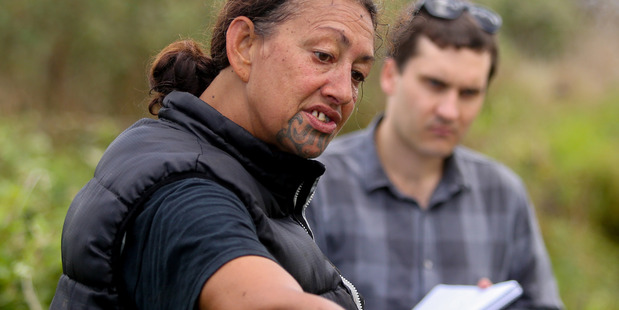 HEALING WETLAND :Tanea Tangaroa talks Wanganui Chronicle Reporter Zaryd Wilson through the project.