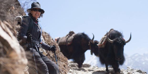 Producer Bridget Ikin in the documentary Sherpa.