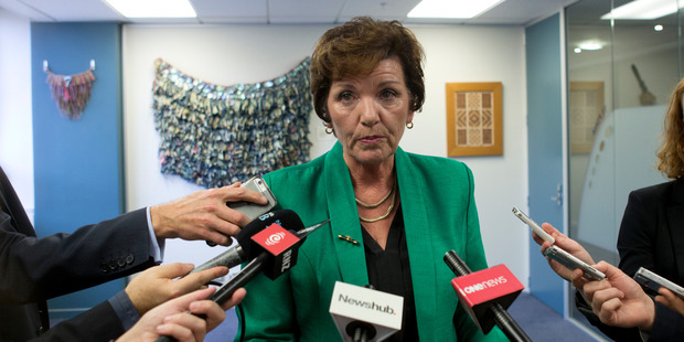 Social Development Minister Anne Tolley after announcing a complete overhaul of Child, Youth and Family. Photo / Mark Mitchell