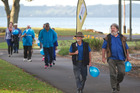 Diabetes New Zealand Rotorua march from QE Health to the museum in recognition of World Health Day: Beat diabetes. Photo/Stephen Parker