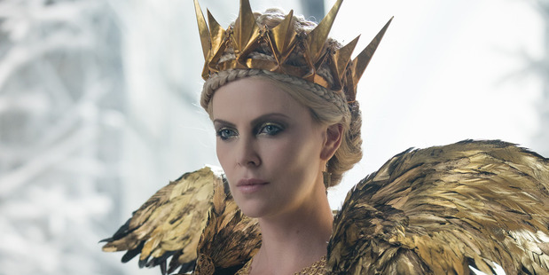 Charlize Theron stars in the movie The Huntsman: Winter's War.