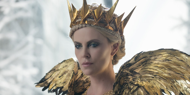 Charlize Theron does evil well in The Huntsman: Winter's War.