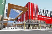 An artist's impression of the new Arcadia and Warehouse in Newmarket. Photo / Supplied