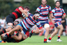 Rotoiti play their first game at home this weekend. Pictured is Rotoiti's Jason Whareaitu in action this season. Photo / Ben Fraser