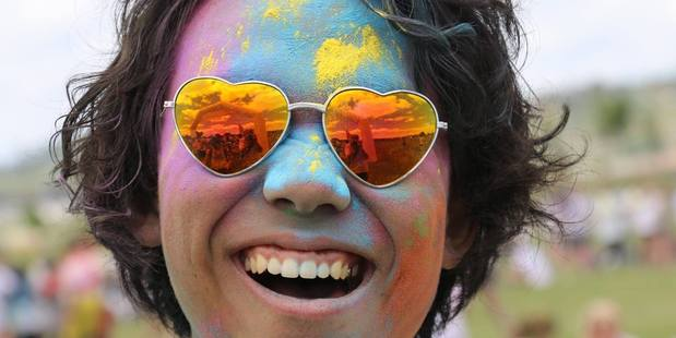 This year Colour Dash will raise money for Kiwi Can and Project K. Photo/file