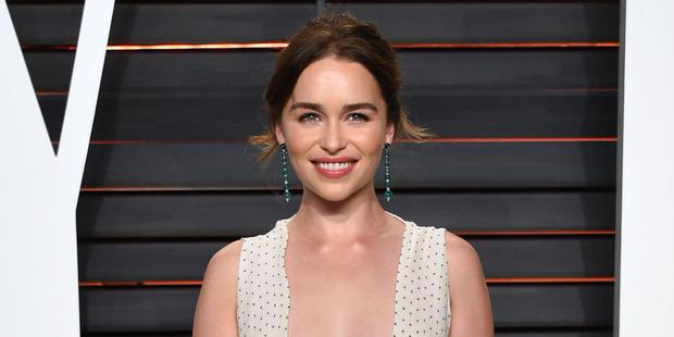 Emilia Clarke who stars as Daenerys Targaryen on the hit HBO show Game of Thrones. Photo / AP.