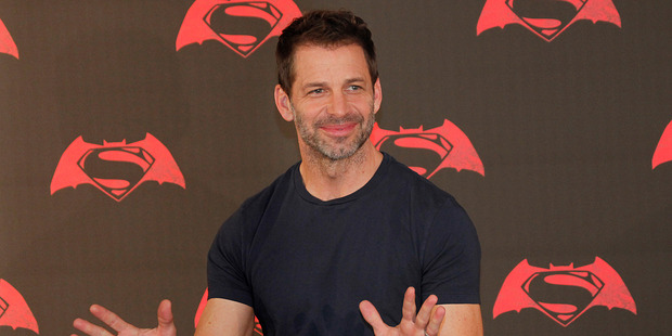 American director Zack Snyder. Photo / AP