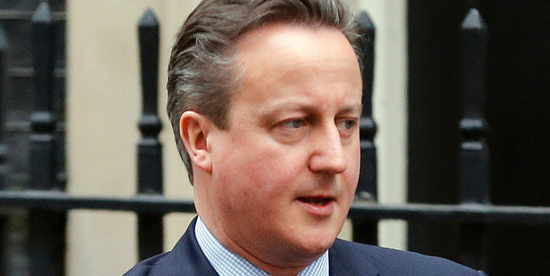 Mr Cameron insisted he had a good record on tackling tax avoidance as PM. Photo / AP