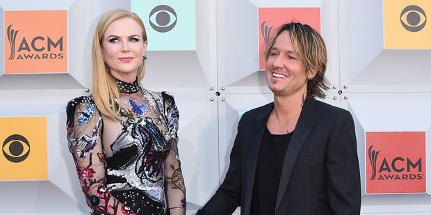 Nicole Kidman and Keith Urban are frequent visitors to Las Vegas. Photo / AP