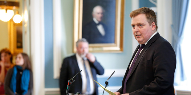 Iceland's Prime Minister Sigmundur David Gunnlaugsson resigned today after information was leaked about him in the Panama Papers.