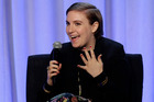 Writer and actress Lena Dunham. Photo / AP
