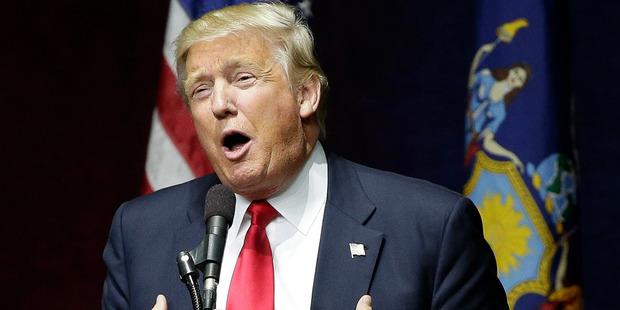 Donald Trump is not a dumb man. Photo / AP