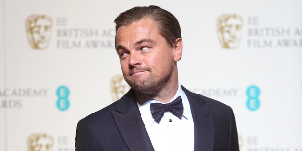 Oscar award winning actor Leonardo Di Caprio. Photo / AP
