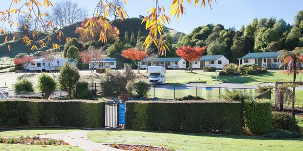 The Waitomo Top 10 Holiday Park is handy to the area's main attractions.