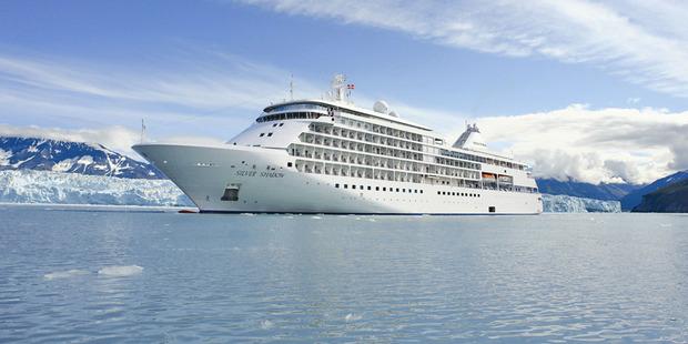 The Silver Shadow cruise ship.
