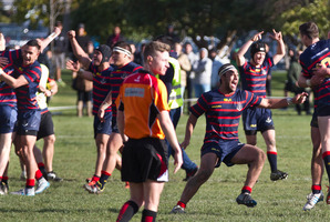 Winning the National First XV Rugby Secondary Schools Championship last year earned the Rotorua Boys' High School team entry into the Sanix tournament in Japan. Photo/File