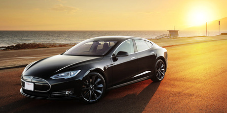 A Tesla Model S will be among the electric cars taking part in a road trip form Cape Reinga to Bluff from today.