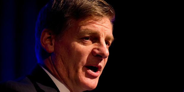 Bill English says the transfer of Kiwibank's shares to two taxpayer-owned organisations will give the bank better access to capital.  Photo / Jason Oxenham