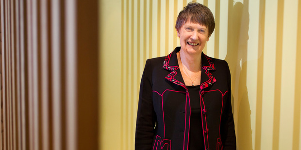 Helen Clark knows what she is up against, knows what to do, and she can do it. Photo / Steve McNicholl