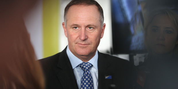 Prime Minister John Key defended comments he made about turning New Zealand in to an offshore banking centre.