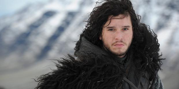 Kit Harrington as Jon Show in Game of Thrones.