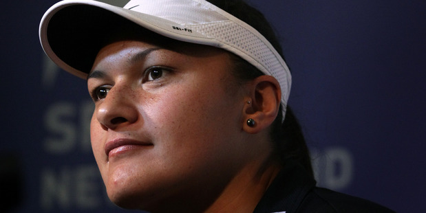 Loading Olympic champion shot-putter  Valerie Adams. Photo / Sarah Ivey