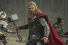 Australian actor Chris Hemsworth stars as Thor in the Marvel movie franchise.