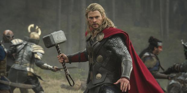 Australian actor Chris Hemsworth stars as Thor in the Marvel movie franchise.