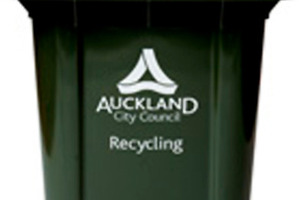 Households in most parts of the super city already use the larger 240-litre bins. Photo / Supplied