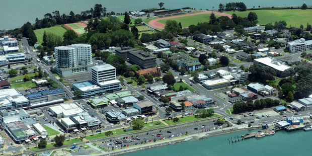 Tauranga CBD. Photo / George Novak
